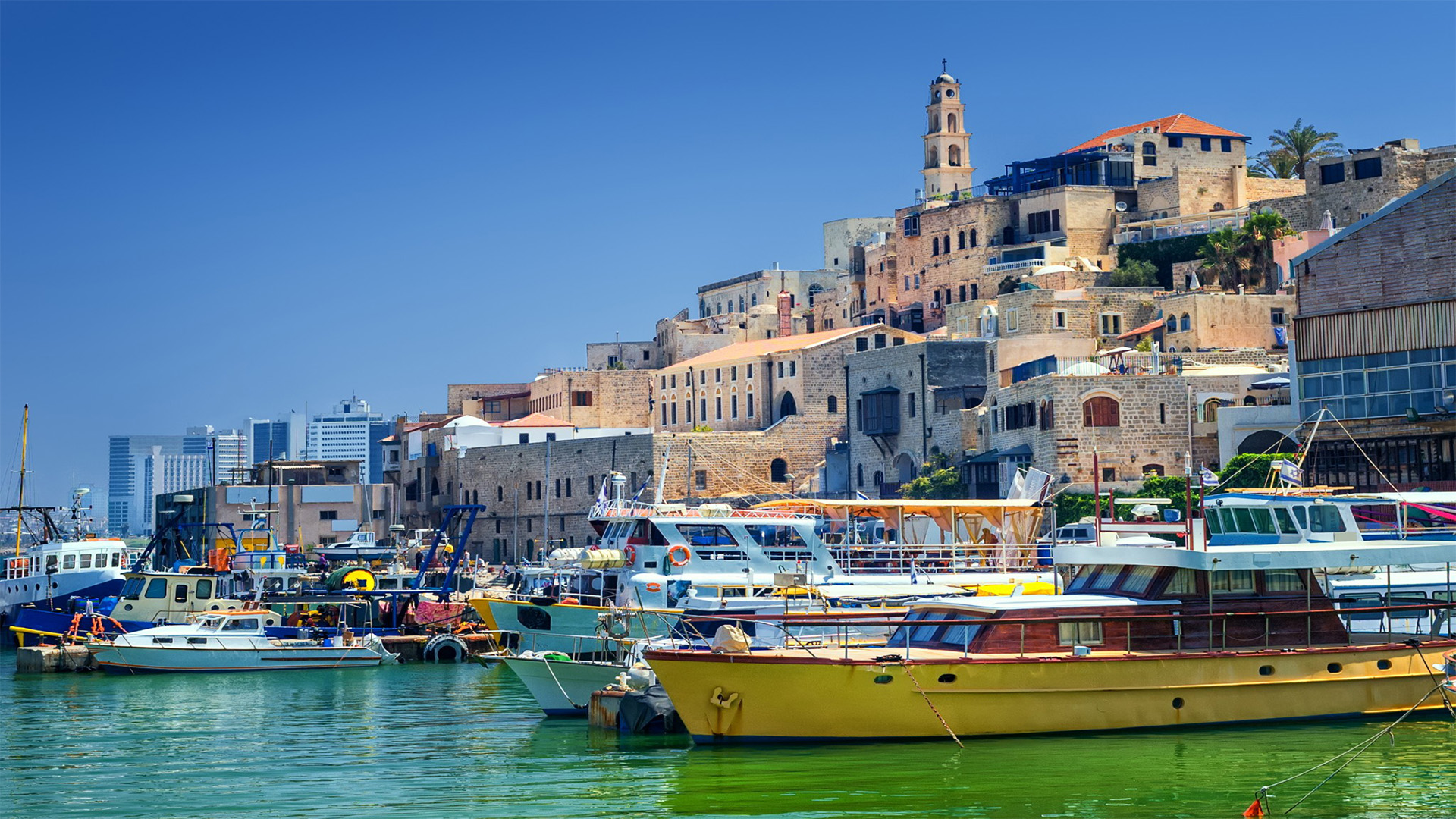A view of old Jaffa. Photo via shutterstock.com