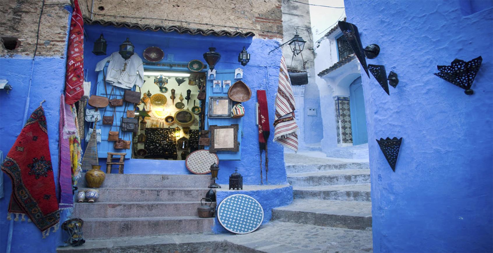 sinie ulitsyi SHefshauena Marokko5656